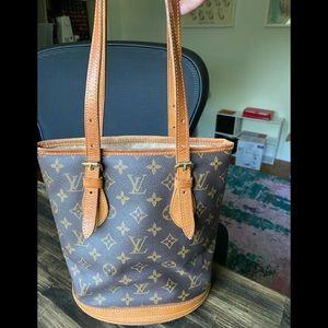 Authentic Louis Vuitton Petite Bucket